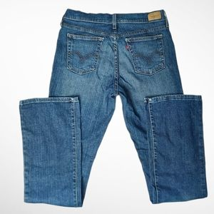 Levi's Boot cut Midrise 515 Jeans Size 8 Long